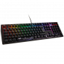 Ducky Shine 7 PBT MX-Silent Red RGB LED blackout (DE) DKSH1808ST-SDEPDAAT1 gaming tipkovnica